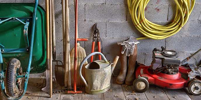 Equipment to Keep in Your Shed