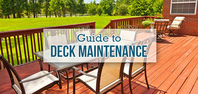 The Complete Homeowner's Guide to Deck Maintenance