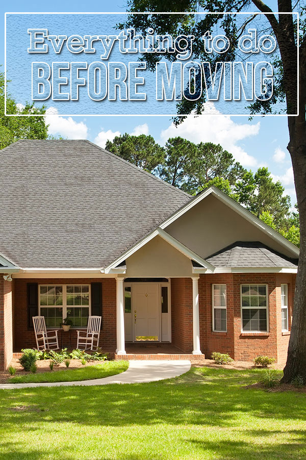 Everything to Do Before Moving into a New House Pin