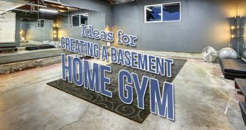 Ideas for Creating a Basement Home Gym