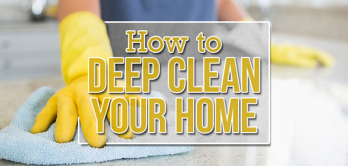 How to Deep Clean Your Home Room-by-Room.