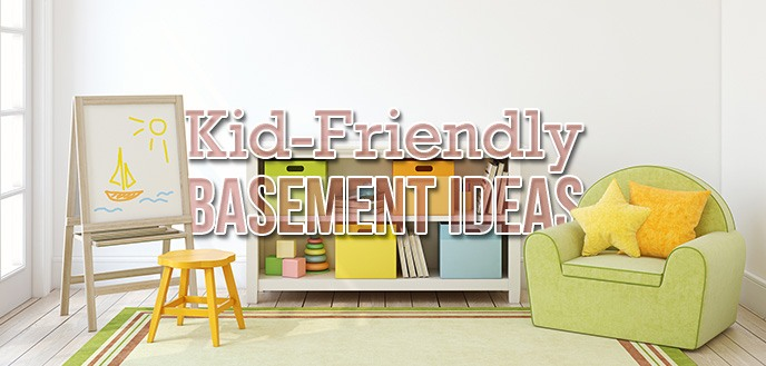 9 Kid-Friendly Basement Playroom Ideas