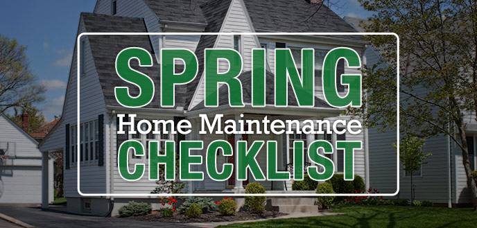 Spring Home Maintenance Checklist | Budget Dumpster