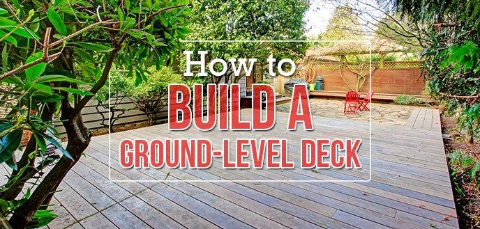 Large Wooden Deck in Backyard