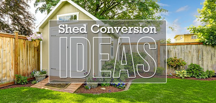 5 Shed Conversion Ideas