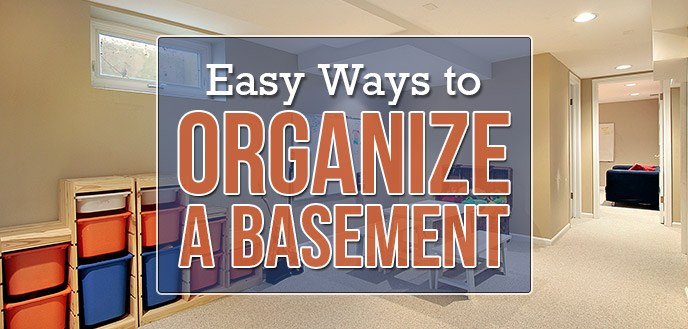 Basement Storage and Organization Ideas