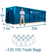 30 Yard Dumpster Dimensions and Capacity.
