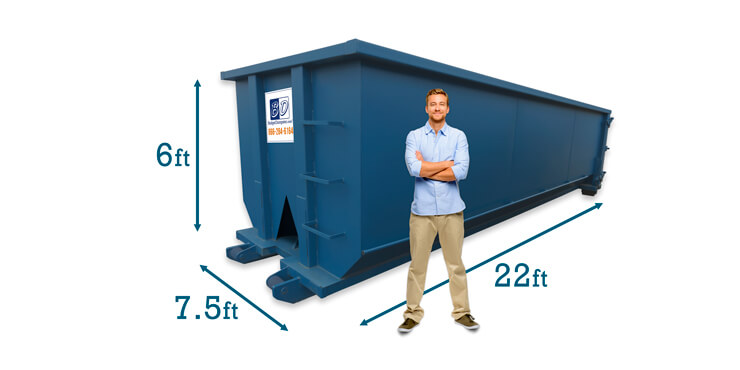 30 Yard Dumpster Dimensions
