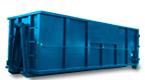 30 yard blue dumpster