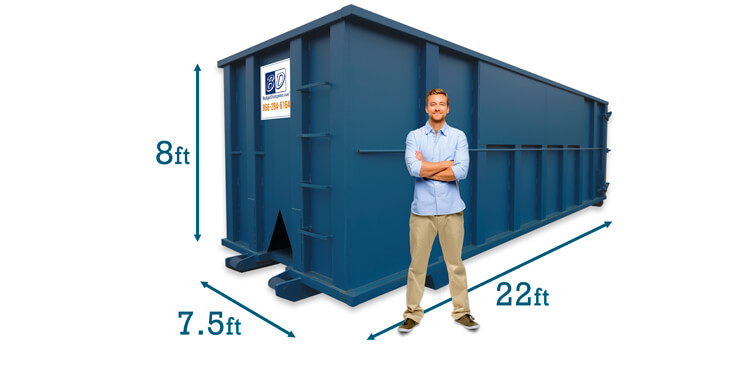 40 Yard Dumpster Dimensions