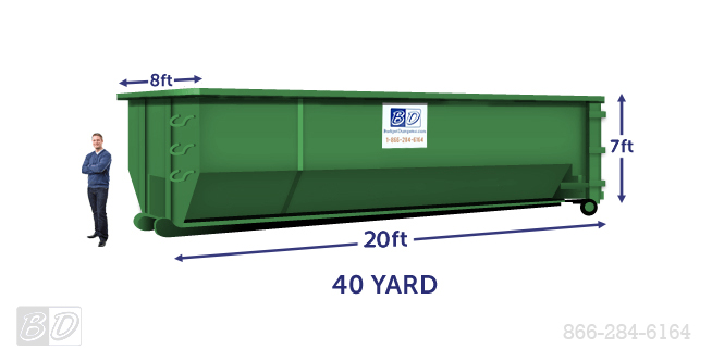 40 Yard Dumpster Dimensions Amp Weight Limits