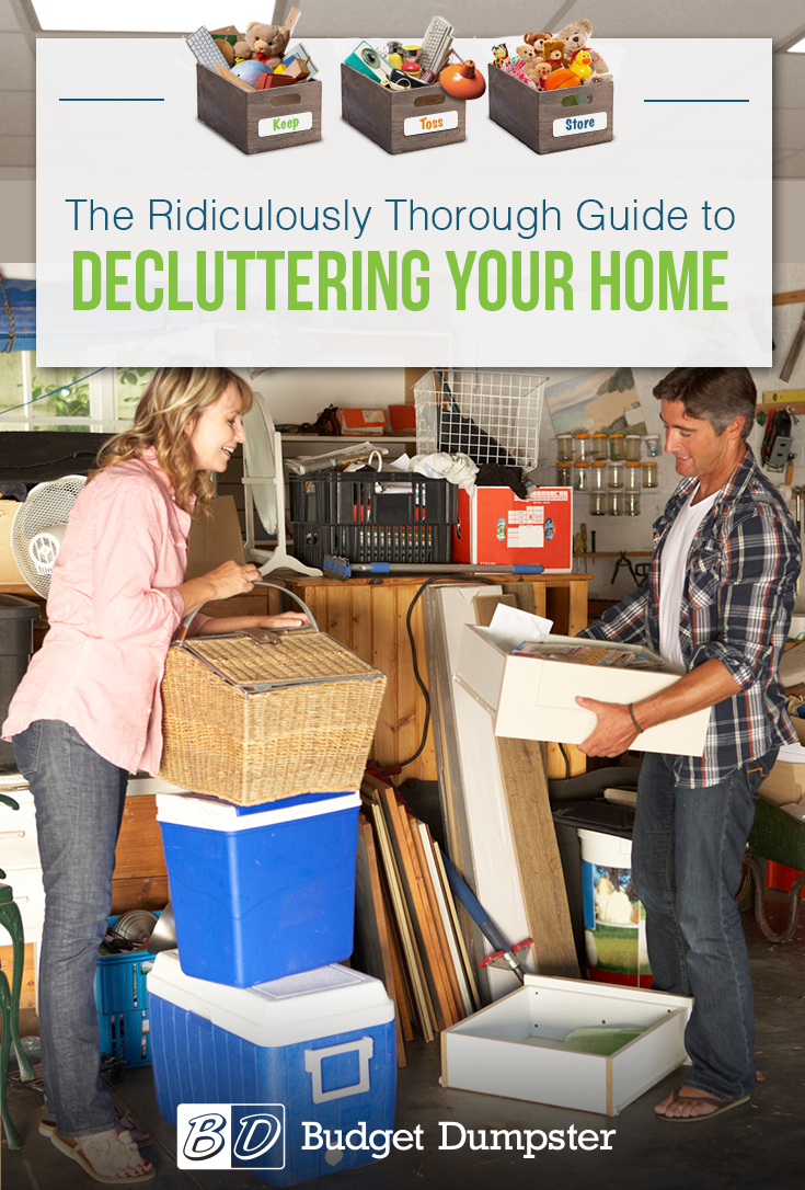 How to Declutter Your Home: Learn all the tricks of the trade for decluttering and organizing your home.