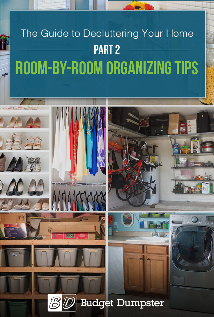 Room-by-Room Organizing Tips: Learn how to organize every single room in your home.