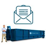 Budget Dumpster Email Newsletter