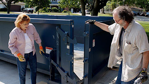 small dumpster rental prices near me