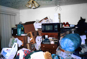 If your house looks like this, it's time to call Budget Dumpster.