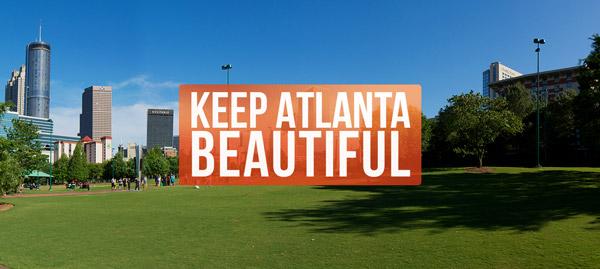 Keep Atlanta Beautiful Cleans Up City