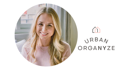 Urban Organyze Decluttering Quote