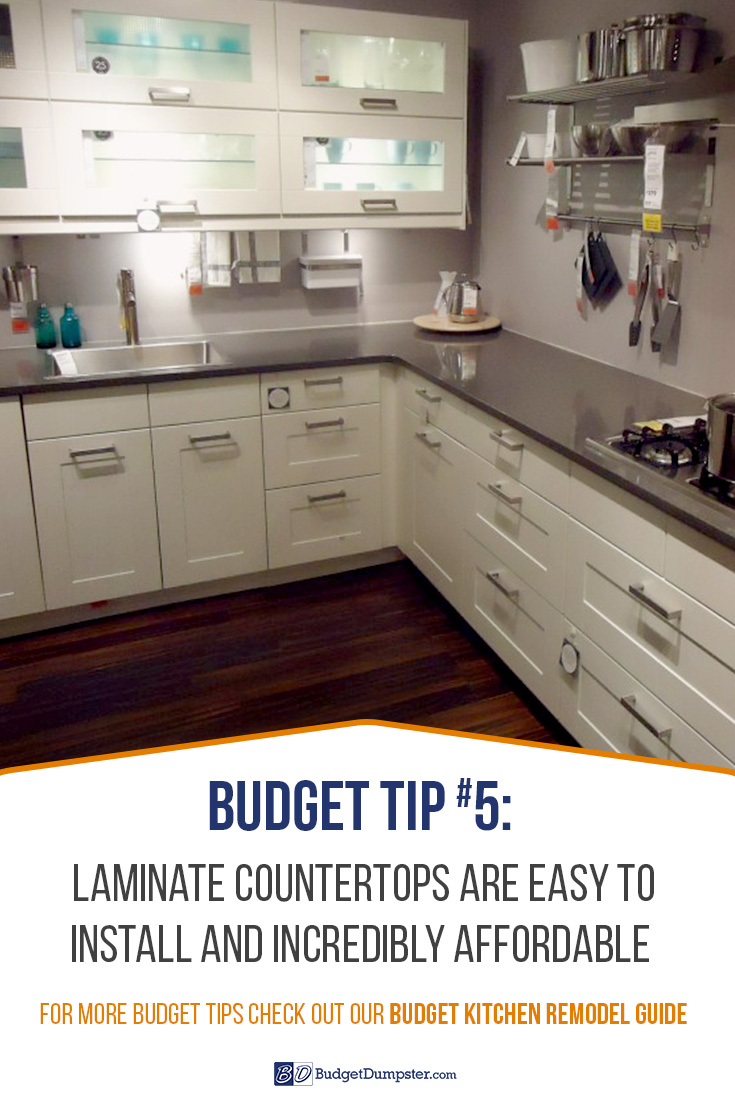 Looking To Save More On Your DIY Kitchen Remodel? Laminate Countertops Are  An Easy And