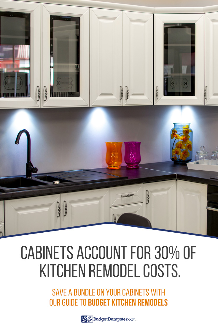 How To Remodel A Kitchen On A Budget Budget Dumpster - Pics of kitchen remodels