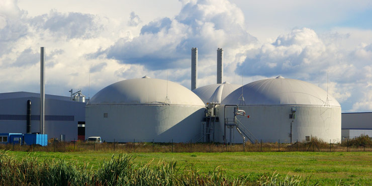 Anaerobic Digester Turns Waste to Energy