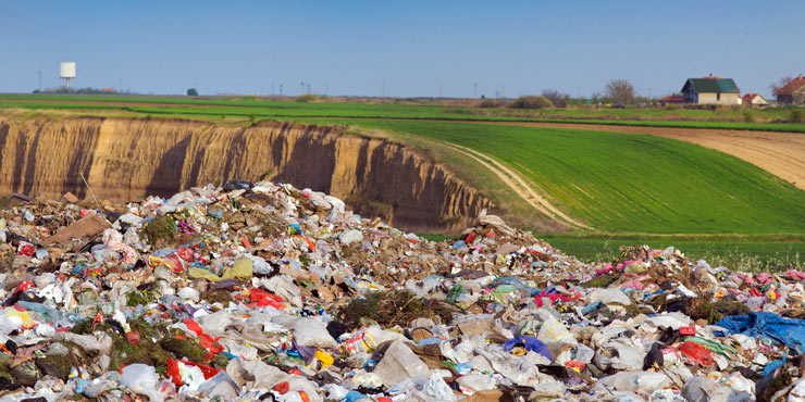 What Happens to Garbage in a Landfill
